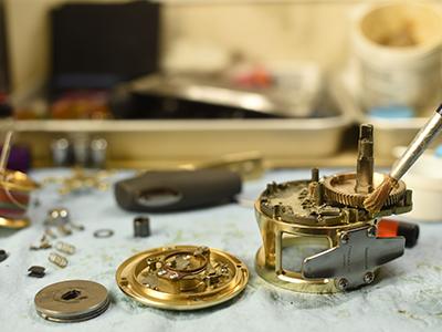 全部品の分解・洗浄・不具合部品の交換・グリスアップイメージ